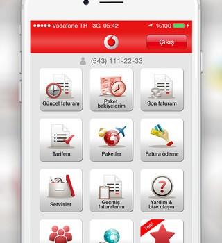 Vodafone Yanımda Ekran Görüntüleri - 4