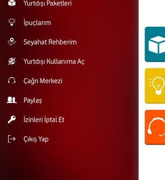 Vodafone Yurtdışı Rehberi Ekran Görüntüleri - 5