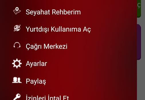 Vodafone Yurtdışı Rehberi Ekran Görüntüleri - 2