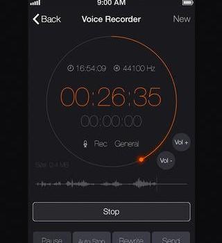 Voice Recorder Free Ekran Görüntüleri - 3