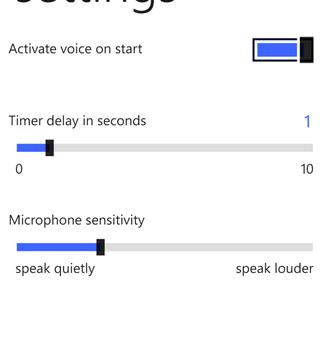 Voice Selfie Ekran Görüntüleri - 1