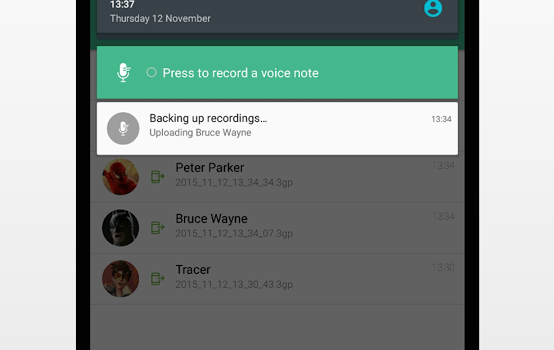 Voisi Recorder Ekran Görüntüleri - 2