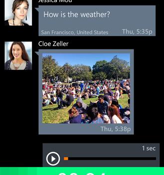 Voxer Ekran Görüntüleri - 2
