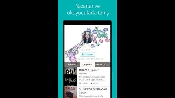 Wattpad Ekran Görüntüleri - 2