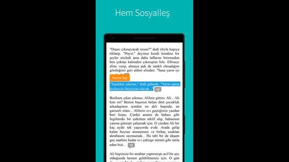 Wattpad Ekran Görüntüleri - 1
