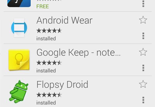 Wear Store for Android Wear Ekran Görüntüleri - 1