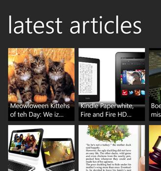 Weave News Reader Ekran Görüntüleri - 2