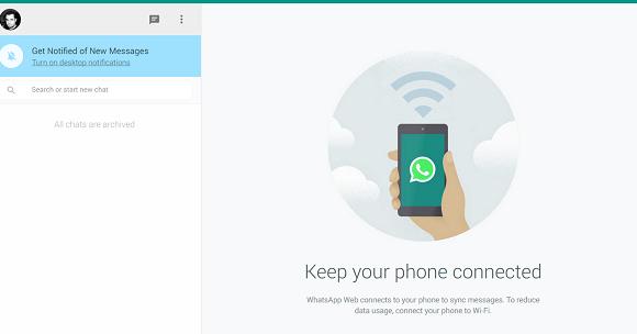 WhatsApp Messenger Web Ekran Görüntüleri - 3