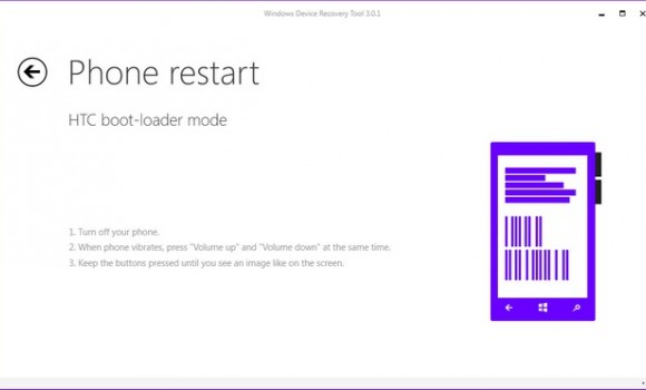 Windows Device Recovery Tool Ekran Görüntüleri - 1