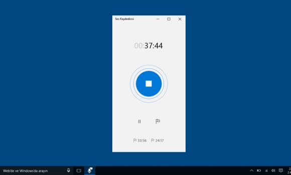 Windows Voice Recorder Ekran Görüntüleri - 2