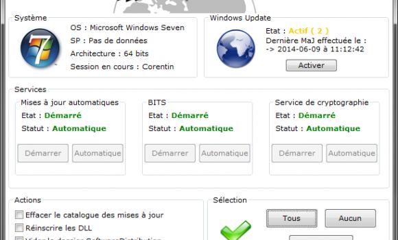 WinUpdateFix Ekran Görüntüleri - 1