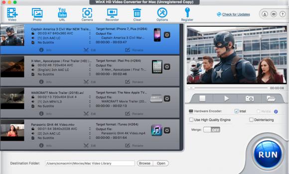 WinX HD Video Converter Deluxe Ekran Görüntüleri - 4