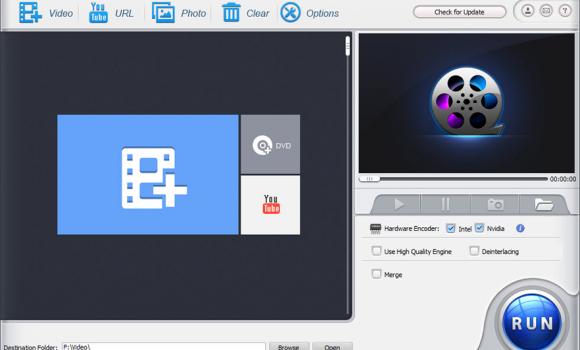 WinX HD Video Converter Deluxe Ekran Görüntüleri - 2