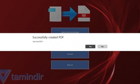 Word2PDF Ekran Görüntüleri - 2
