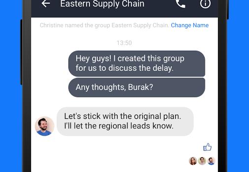 Work Chat Ekran Görüntüleri - 2