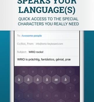 WRIO Keyboard Ekran Görüntüleri - 2