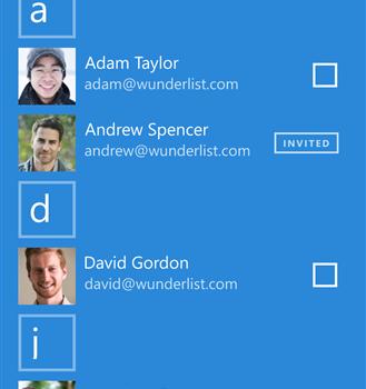 Wunderlist Beta Ekran Görüntüleri - 1