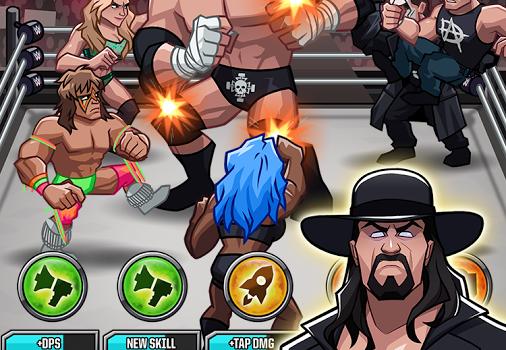 WWE Tap Mania Ekran Görüntüleri - 4