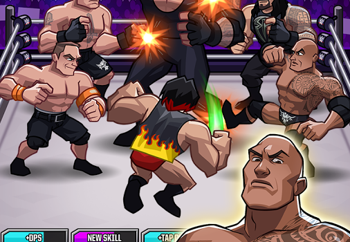 WWE Tap Mania Ekran Görüntüleri - 1