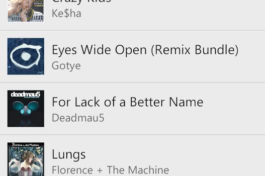 Xbox Music Ekran Görüntüleri - 1