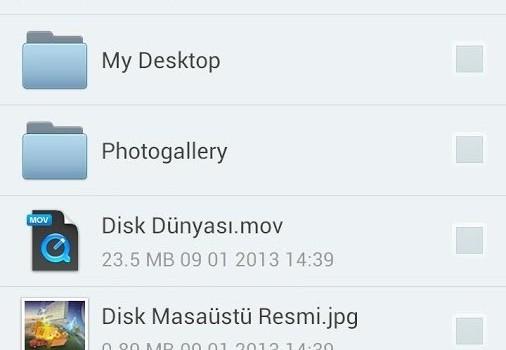 Yandex.Disk Ekran Görüntüleri - 3