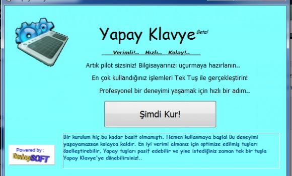 Yapay Klavye Ekran Görüntüleri - 2