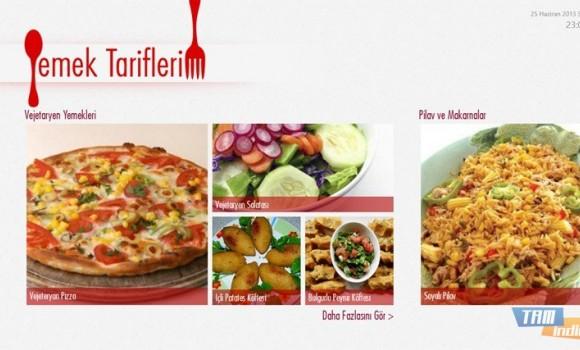 Yemek Tariflerim Ekran Görüntüleri - 3