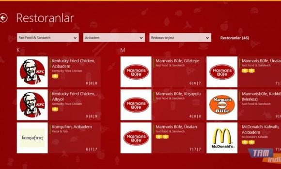 Yemeksepeti Ekran Görüntüleri - 2