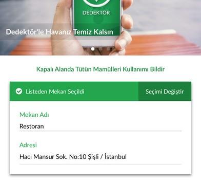 Yeşil Dedektör Ekran Görüntüleri - 2