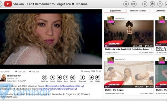YouTube for Windows 8 Ekran Görüntüleri - 2