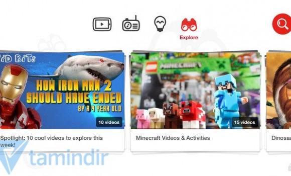 YouTube Kids Ekran Görüntüleri - 2