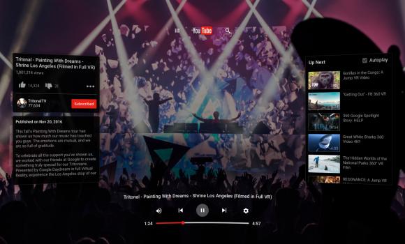YouTube VR Ekran Görüntüleri - 4