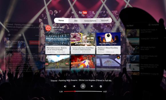 YouTube VR Ekran Görüntüleri - 3