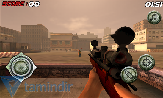 Zombie Sniper Shooting 3D Ekran Görüntüleri - 3
