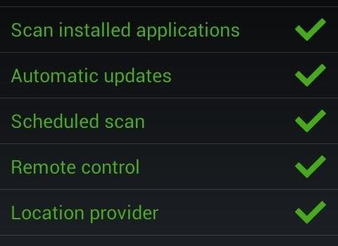 Zoner Mobile Security Ekran Görüntüleri - 2