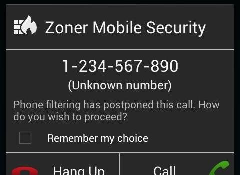 Zoner Mobile Security Ekran Görüntüleri - 3