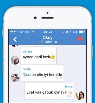 Zurna Chat Ekran Görüntüleri - 3