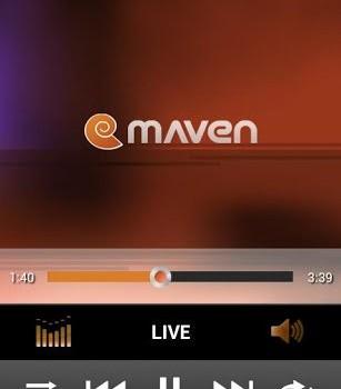 3D Music Player MAVEN Sunset Ekran Görüntüleri - 3