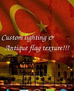 3D Turkey Flag LWP Ekran Görüntüleri - 3