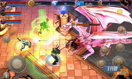 Dungeon Hunter 3 Ekran Görüntüleri - 1