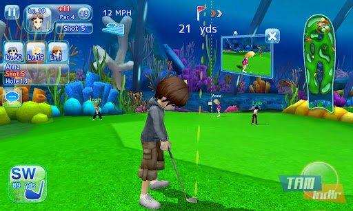 Let's Golf! 3 Ekran Görüntüleri - 2