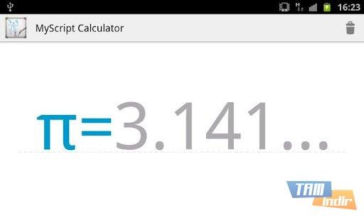 MyScript Calculator Ekran Görüntüleri - 3