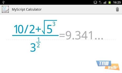 MyScript Calculator Ekran Görüntüleri - 2