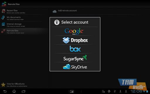 OfficeSuite Pro 6 + (PDF & HD) Ekran Görüntüleri - 7