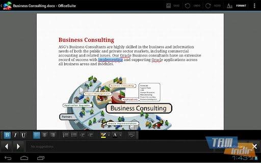 OfficeSuite Pro 6 + (PDF & HD) Ekran Görüntüleri - 2