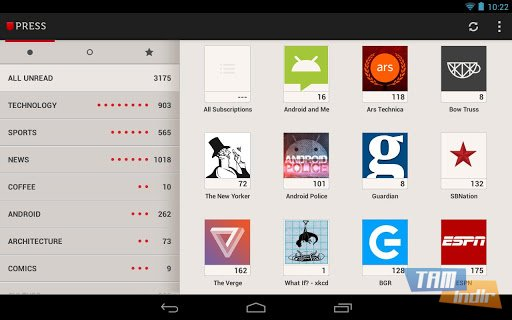 Press (Google Reader) Ekran Görüntüleri - 4