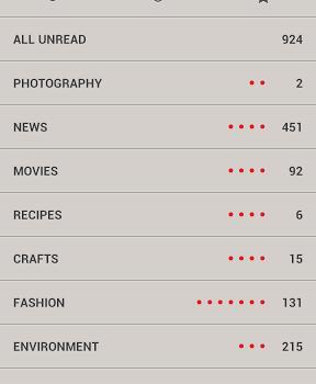 Press (Google Reader) Ekran Görüntüleri - 3