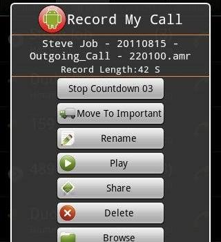 Record My Call Ekran Görüntüleri - 1