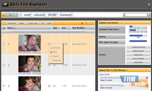 WiFi File Explorer PRO Ekran Görüntüleri - 5