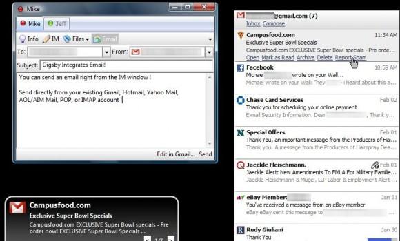 Digsby Ekran Görüntüleri - 3